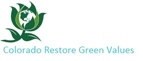 Colorado Restore Green Values Logo